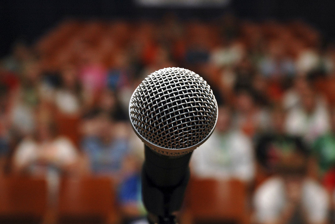 become a motivational speaker