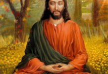Christ in yogic meditation