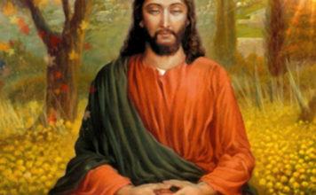 Christ in yogic meditation