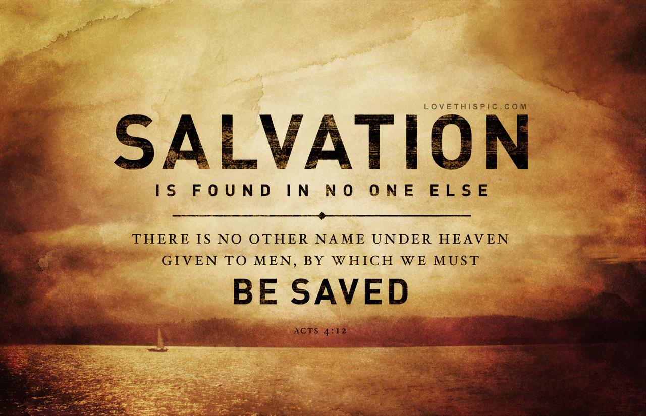 Jesus Salvation