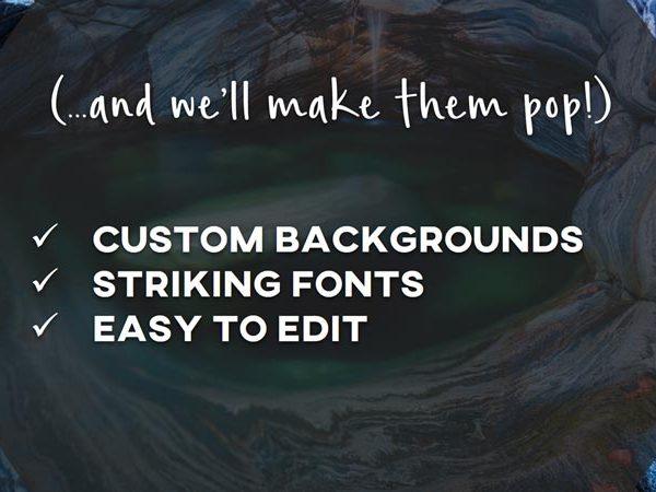 custom designed presentations for pastors