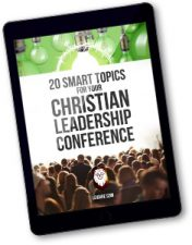 ideas for christian leadership conference guide