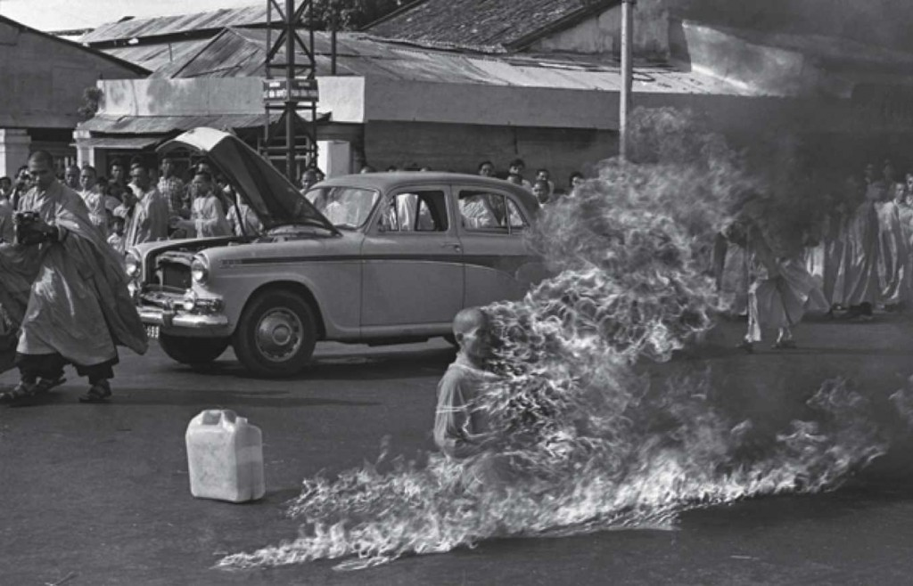 Thich Quang Duc burning monk