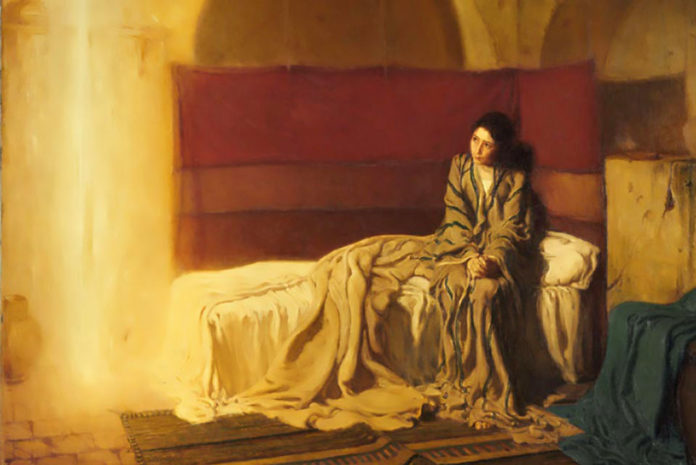 the annunciation by tanner