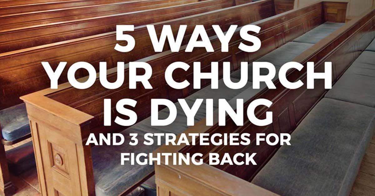 5 ways your church is dying webinar