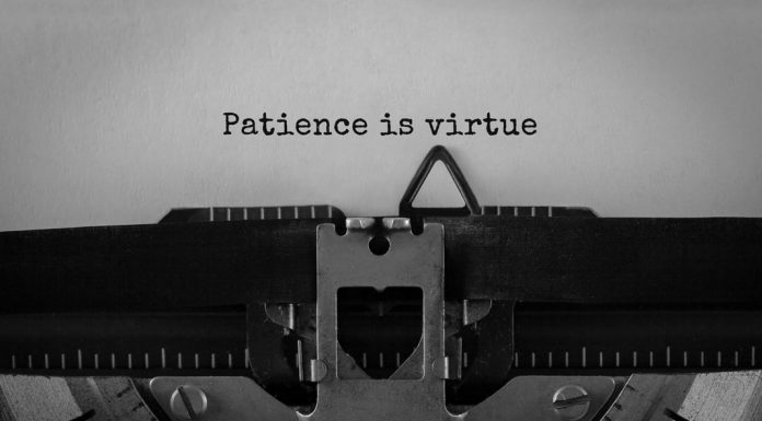patience is a virtue