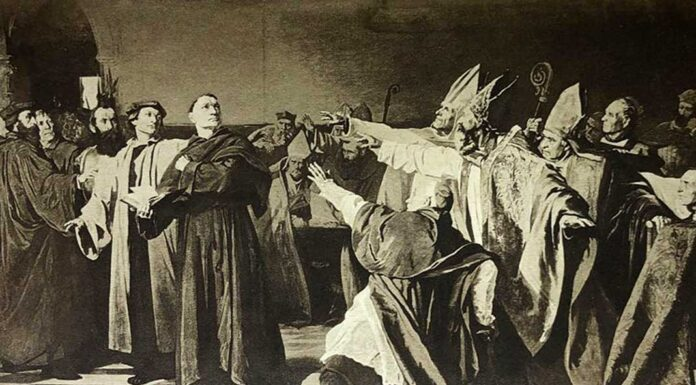 martin luther at the council of worms
