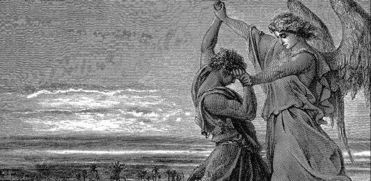 Jacob wrestles the angel