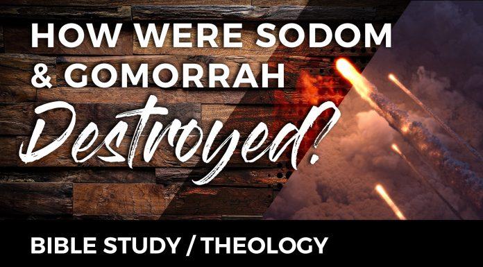 how sodom gomorrah were destroyed