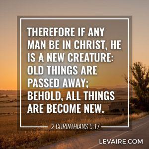 2 Corinthians 5:17 new creature